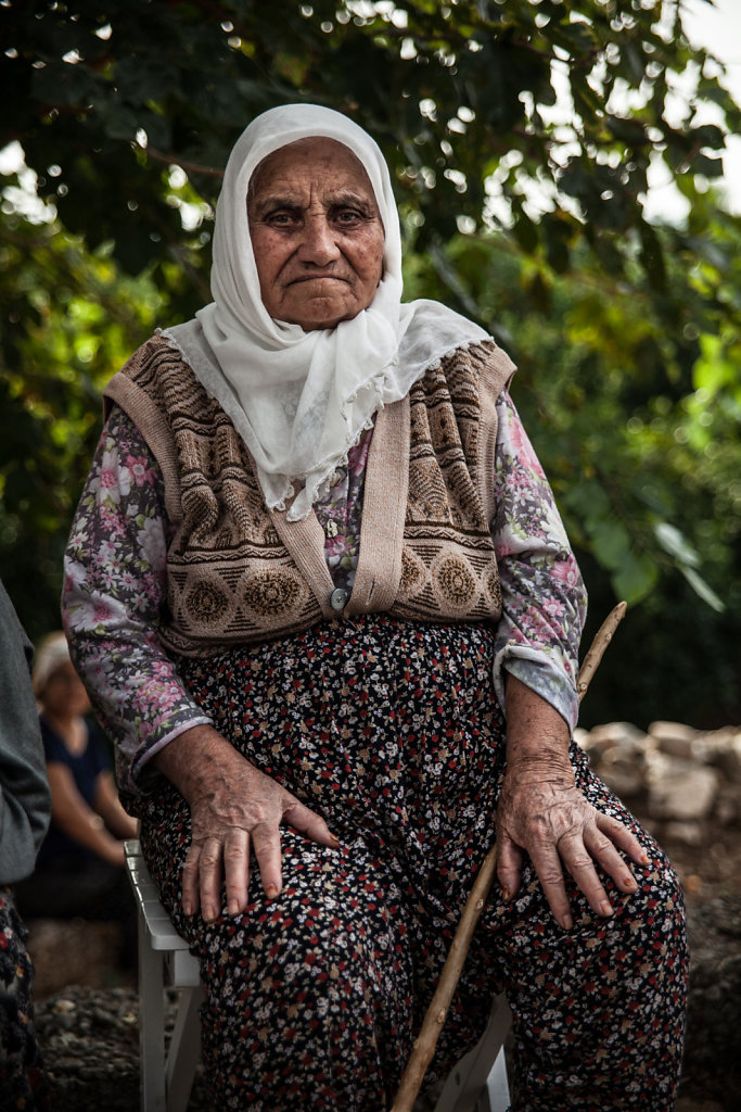 Woman from a turkish village