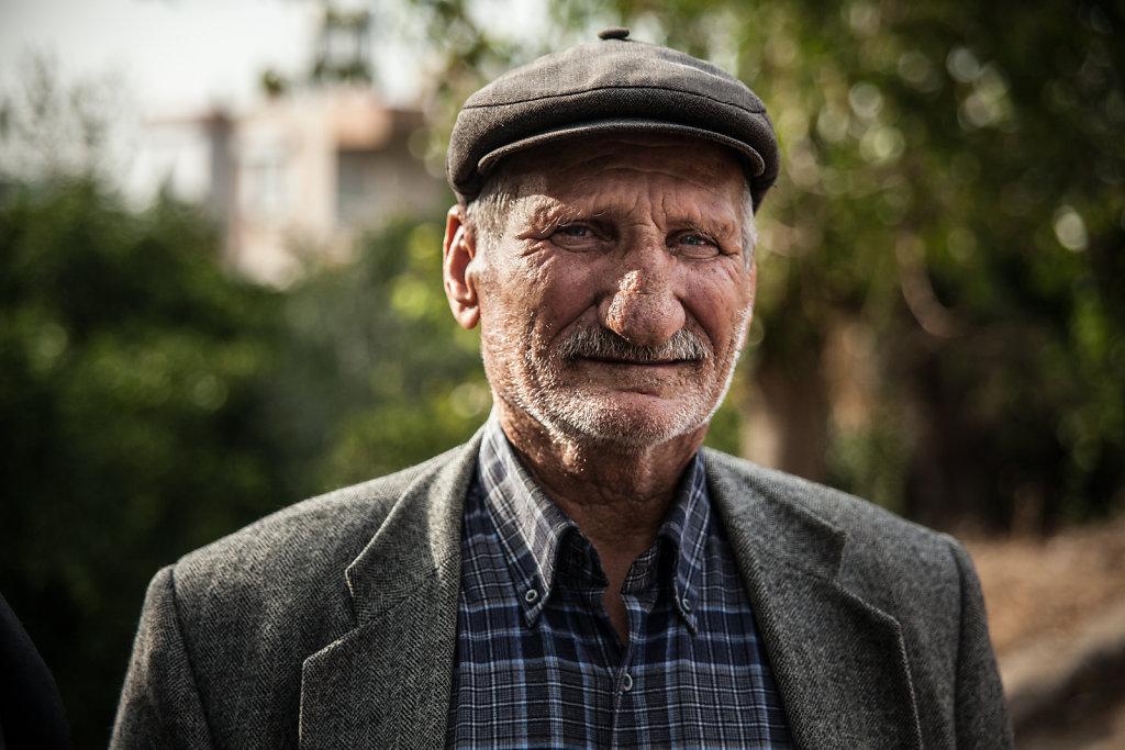 Man from a turkish village